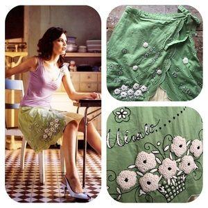 """Anthropologie Odille Wrap """"Italia Skirt"""" Rare! NWT"""